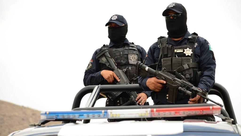 Asesinan en Zacatecas a 15 personas en menos de 24 horas - Agentes de la Secretaría de Seguridad Pública de Zacatecas