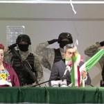 #Video Alcalde de Cuautitlán Izcalli rompe cordón de campana en ceremonia del Grito