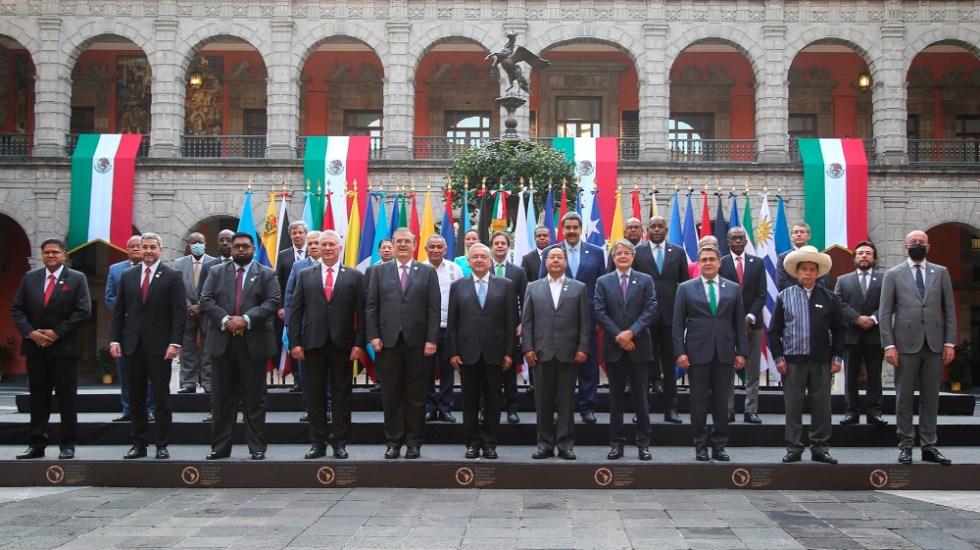 """AMLO ve """"positiva"""" la cumbre de la Celac pese """"a las diferencias"""" - AMLO Lopez Obrador Celac"""