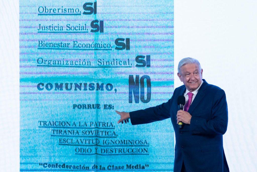 México entregará carta a Biden sobre migración durante diálogo de alto nivel - AMLO López Obrador comunismo carta