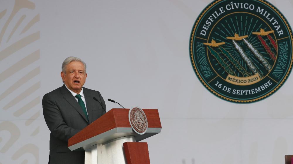 AMLO Lopez Obrador desfile Independencia