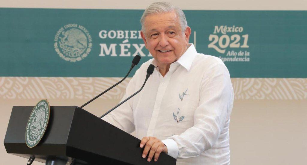 Acusa AMLO a España de soberbia por no disculparse por la conquista - El presidente López Obrador. Foto de Presidencia.
