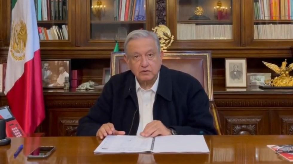 """""""Afortunadamente no hay daños graves"""" por sismo, asegura López Obrador - AMLO mensaje sismo México López Obrador"""