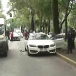 Ejecutan en Coyoacán a neurólogo a bordo de su BMW