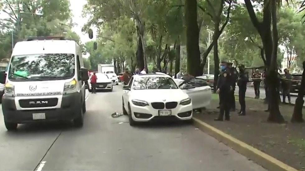 Ejecutan en Coyoacán a neurólogo a bordo de su BMW - Asesinato de neurólogo en Coyoacán