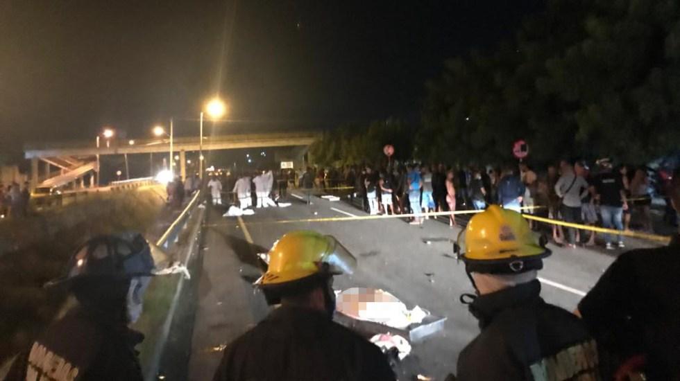 Conductor atropella en carretera de Colombia a jóvenes; hay seis muertos - Atropello masivo en carretera de Santa Marta, Colombia