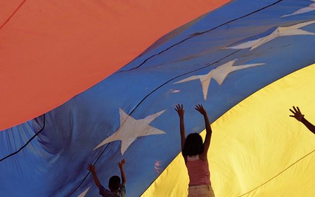 """Noruega reafirma su """"imparcialidad"""" en Venezuela tras polémica en la ONU - Bandera de Venezuela oposición diálogo"""