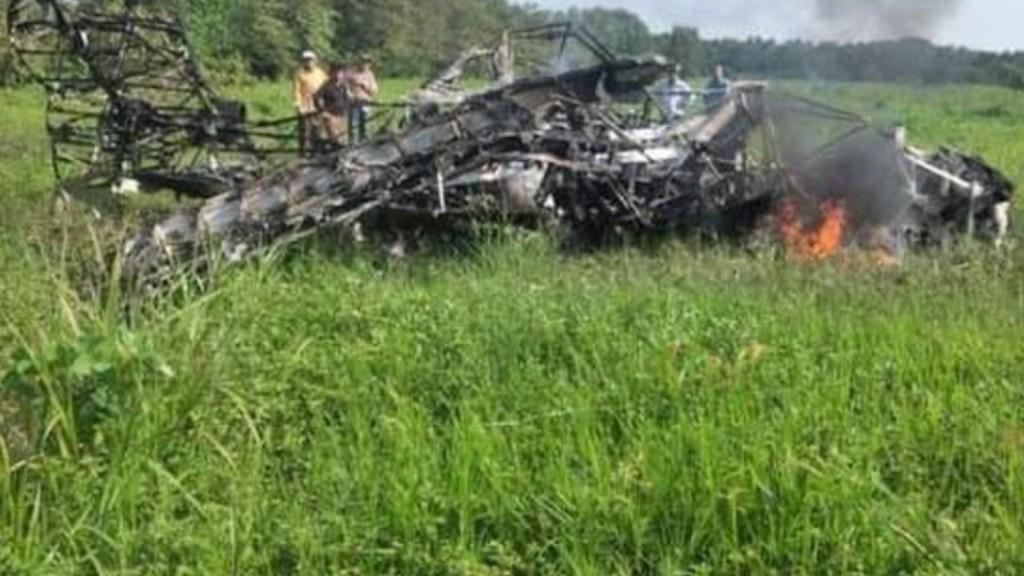 Muere piloto de avión que realizaba labores de fumigación en Tabasco - Cae avión que realizaba labores de fumigación en Tabasco. Foto de Milenio