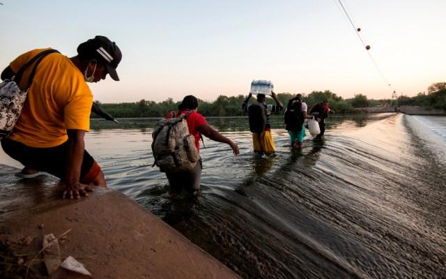 Biden acelerará ritmo de deportaciones de haitianos por crisis en frontera - campamento haitianos Del Río Texas