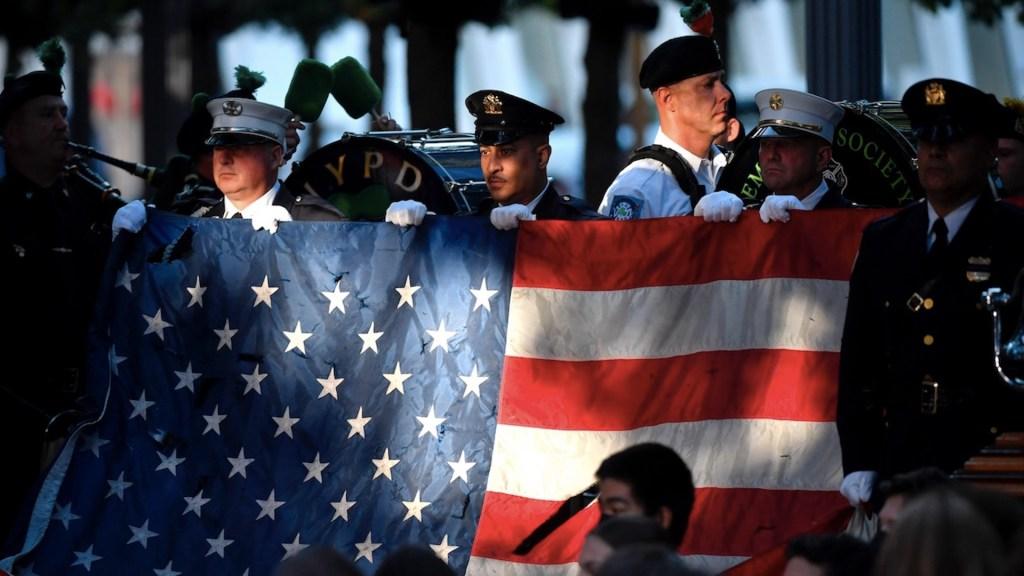 Ceremonia por el 11-S en nueva york