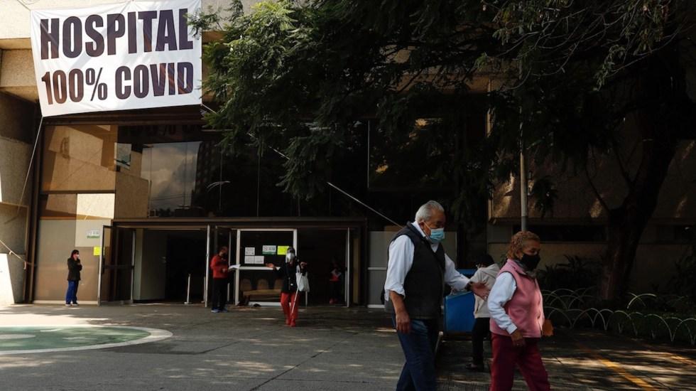 México, 4º lugar este viernes en defunciones por COVID-19 en el mundo - México registró en las últimas 24 horas 17 mil 409 contagios y 725 muertes por COVID-19. Foto de EFE