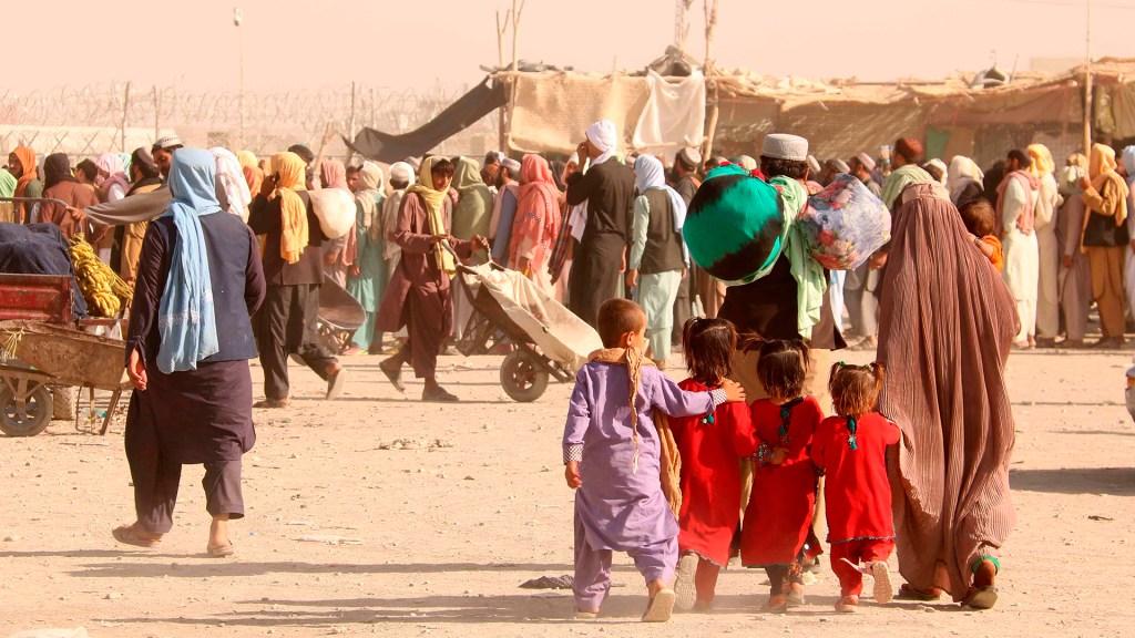 Director de la OMS llega a Kabul en plena crisis sanitaria en Afganistán - Crisis en frontera de Afganistán con Pakistán