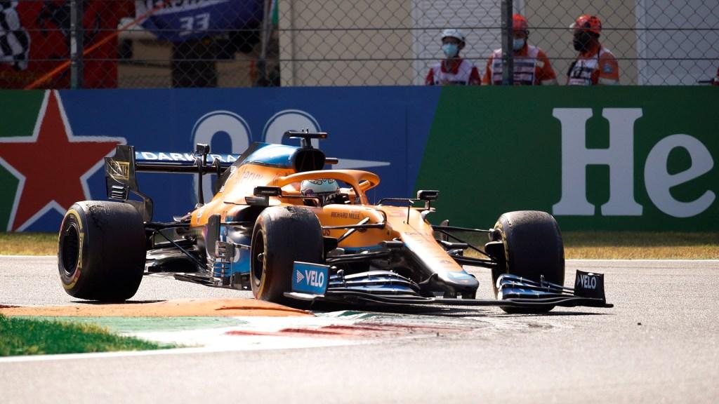 Daniel Ricciardo gana GP de Italia; 'Checo' Pérez finalizó en quinto lugar - Daniel Ricciardo durante GP de Italia
