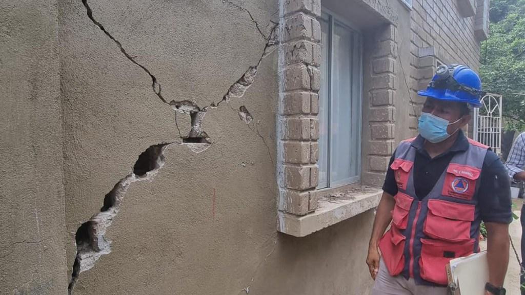 Emiten declaratoria de desastre en 16 municipios de Guerrero por sismo - Daños en Guerrero por sismo magnitud 7.1