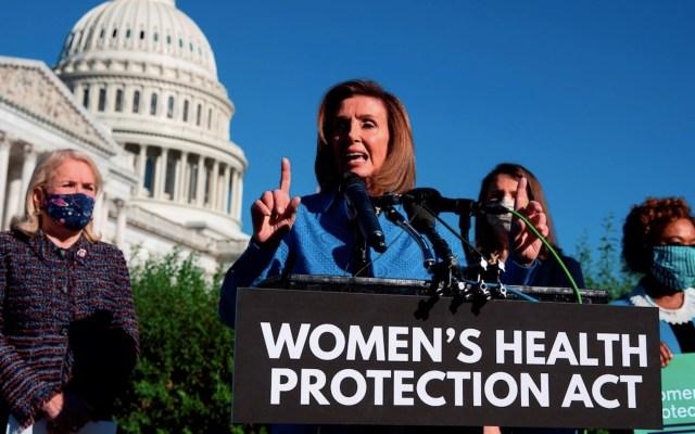 Demócratas intentan blindar derecho al aborto en Estados Unidos - Demócratas intentan blindar derecho al aborto en Estados Unidos. Foto de EFE