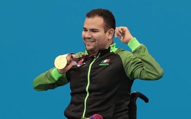 Diego López obtiene sexto oro para México en Juegos Paralímpicos - Diego López oro Paralímpicos Tokio 2020