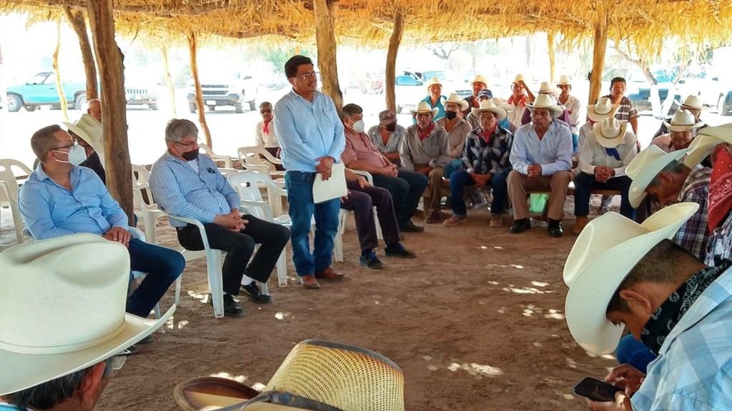 Familiares de desaparecidos de comunidad yaqui piden intervención de AMLO - Familiares de yaquis desaparecidos piden a AMLO su intervención. Foto de EFE