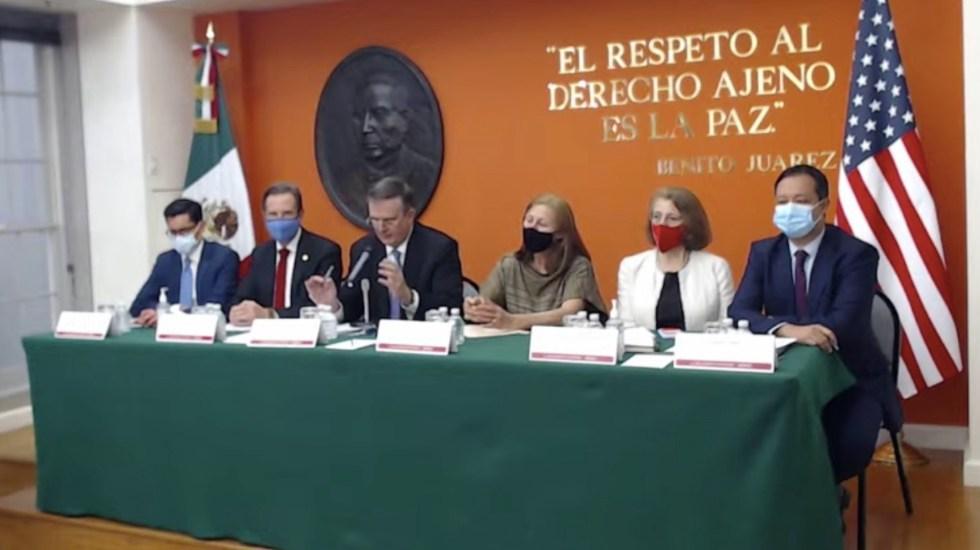 """""""Fue una reunión exitosa"""", Ebrard sobre Diálogo Económico de Alto Nivel entre México y EE.UU. - #EnVivo"""