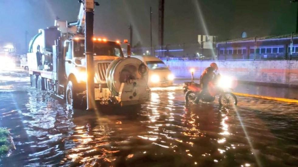 Dos muertos dejan las fuertes lluvias en Ecatepec, Edomex - Ecatepec inundaciones lluvia