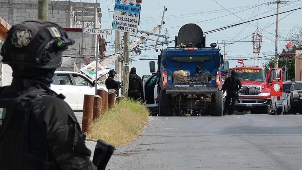 Enfrentamientos en Nuevo Laredo dejan al menos 13 muertos - Enfrentamientos en Nuevo Laredo dejan al menos 13 muertos. Foto de EFE