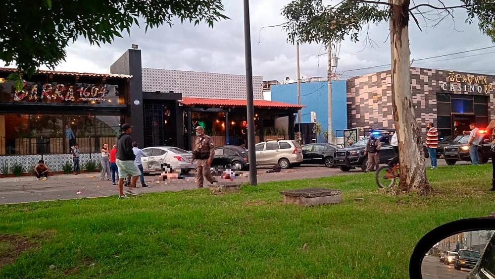 explosión Salamanca restaurant Guanajuato
