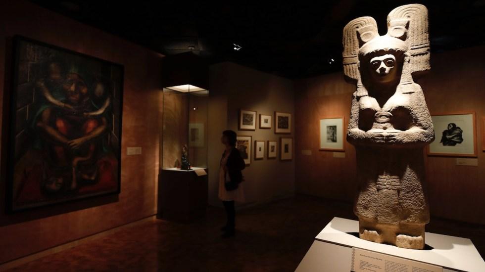 Inauguran exposición 'La grandeza de México' con piezas recuperadas de otros países - Inauguran exposición 'La grandeza de México' con piezas recuperadas de otros países. Foto de EFE
