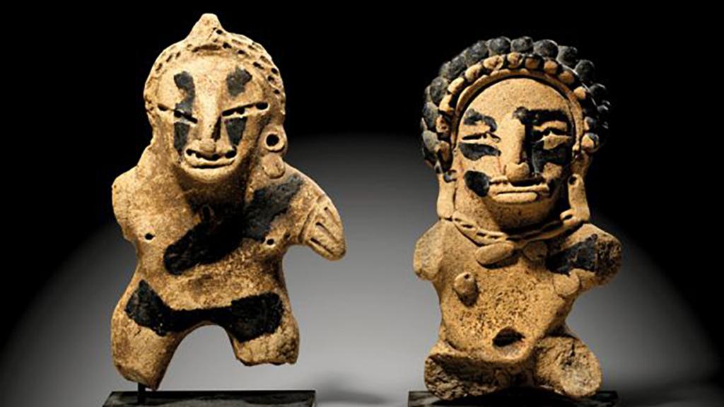 México denuncia subasta de 74 piezas arqueológicas en Alemania - Figuras de México a subastar en Alemania