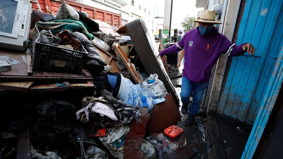No llega la ayuda a Tula; alcalde urge liberar apoyos a damnificados por inundaciones - Tula