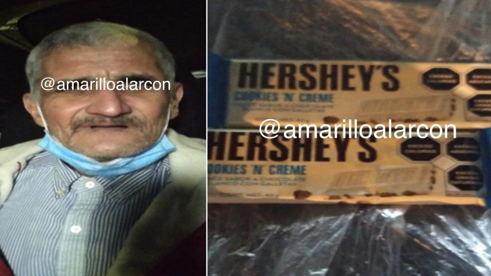 Liberan a adulto mayor internado en Reclusorio Oriente por robar chocolates - Chocolate Tlalpan