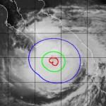 Medio millón de personas están en riesgo por huracán Olaf