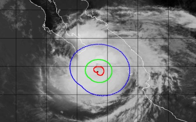 Medio millón de personas están en riesgo por huracán Olaf - huracán Olaf