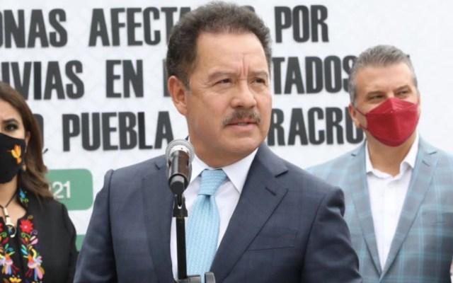 Ignacio Mier se deslinda de diputada detenida con armas - Ignacio Mier se deslinda de Sandra Nelly 'N'. Foto de Twitter Ignacio Mier