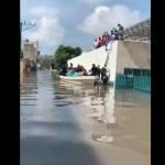 Seguirá la lluvia en el Valle de México; AMLO pide trasladarse a zonas altas o albergues
