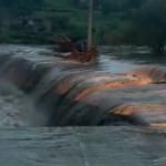 #Video Desborde de presas en Zacatecas inunda el municipio de Genaro Codina