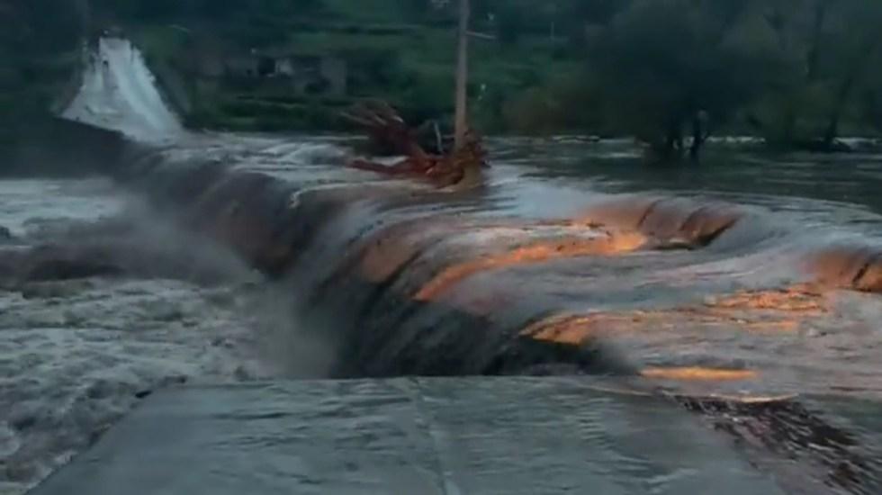 #Video Desborde de presas en Zacatecas inunda el municipio de Genaro Codina - Inundaciones en Genaro Codina, Zacatecas