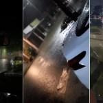 Fuertes lluvias provocan afectaciones e inundaciones en Villahermosa
