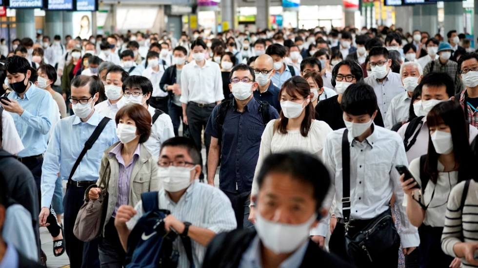 Japón levantará alerta sanitaria por COVID-19 el 1 de octubre - Japón COVID-19 coronavirus