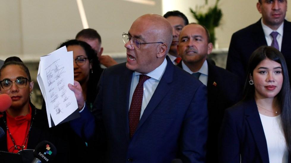 Diálogo de Venezuela da sus primeros resultados concretos en México - Jorge Rodríguez diálogo Venezuela