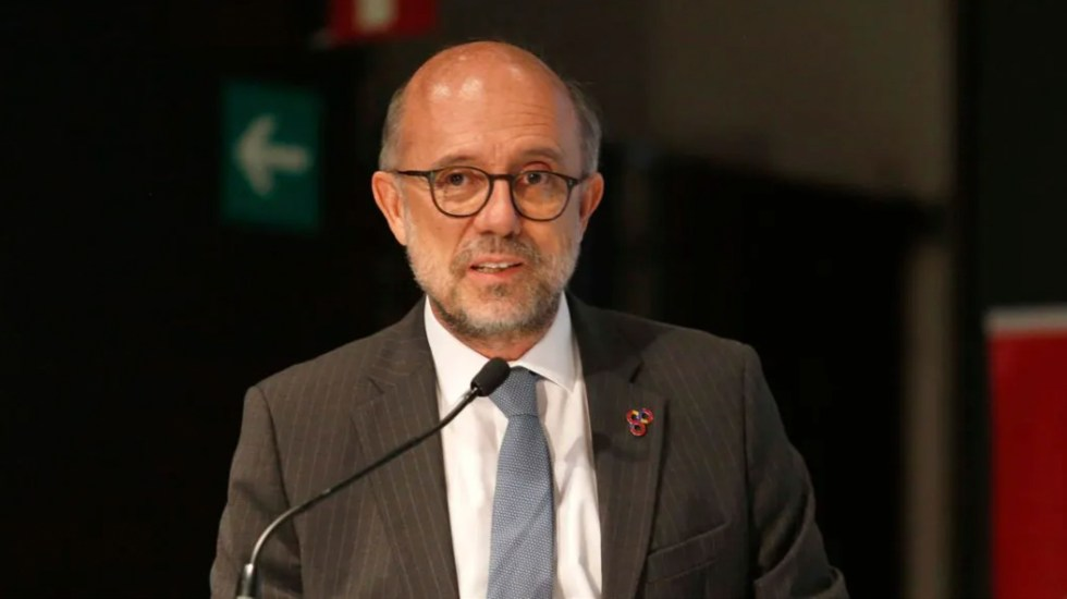 Embajador Juan López-Dóriga: 'Vox no es España' - El embajador Juan López-Dóriga. Foto de EE/ Hugo Salazar.