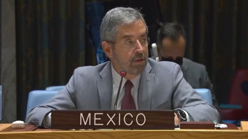Pide México ante la ONU levantar por completo bloqueo en Gaza - Critica México actuación del Consejo de Seguridad de la ONU ante emergencias. Foto de Twitter @MexOnu
