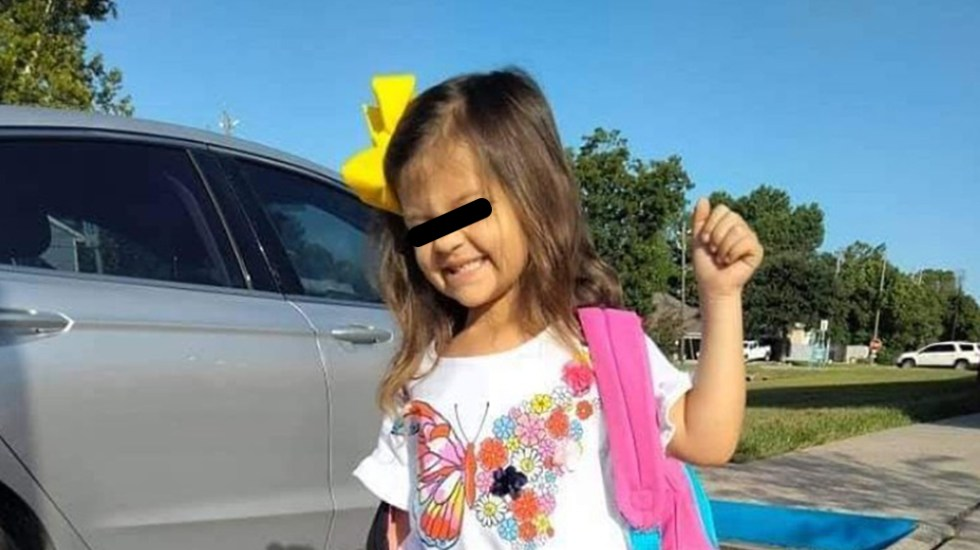 Niña de 4 años murió en Texas horas después de dar positivo a COVID-19 - Kali Cook, niña de 4 años que murió por COVID-19 en Texas