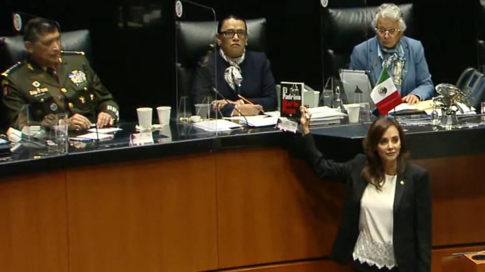"""""""Abrazos, no balazos"""" es la proclamación del compromiso de la 4T con el crimen organizado: Lilly Téllez - Lilly Téllez"""