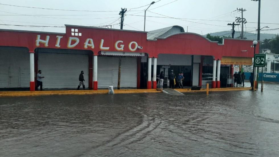 Fuertes lluvias provocan nuevas afectaciones en Tula, Hidalgo - Lluvias Tula 27sep21 Hidalgo