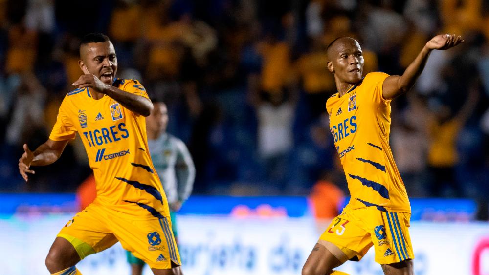 De último minuto, Tigres rescató el empate ante León - Luis Quiñones Tigres