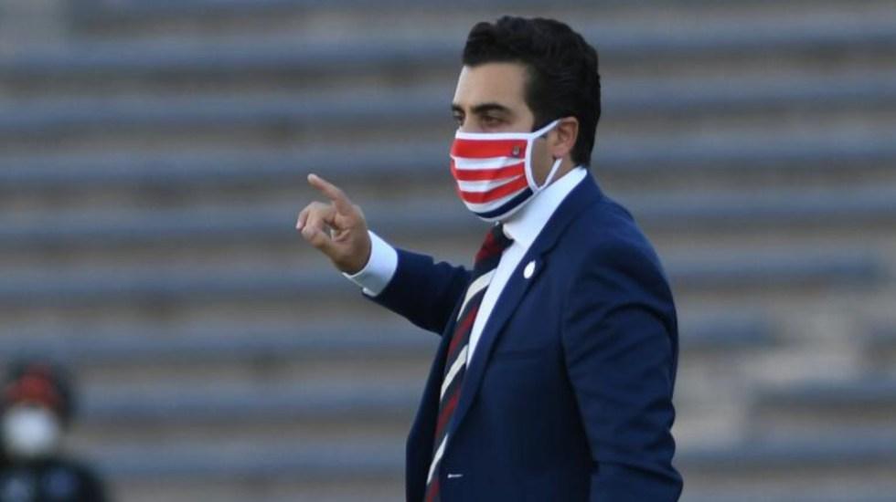 Chivas anuncia a Marcelo Michel Leaño como entrenador interino - Marcelo Michel Leaño Chivas