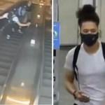 #Video Hombre patea a mujer en Metro de Nueva York; ya fue detenido