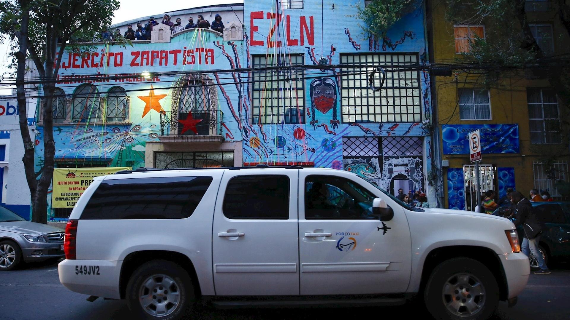 México zapatistas EZLN Europa 2