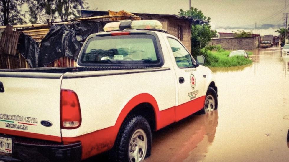 Activan Plan DN-III-E tras afectaciones por lluvias en Lázaro Cárdenas, Michoacán - Activan Plan DN-III-E tras afectaciones por lluvias en Lázaro Cárdenas, Michoacán. Foto de Protección Civil Michoacán