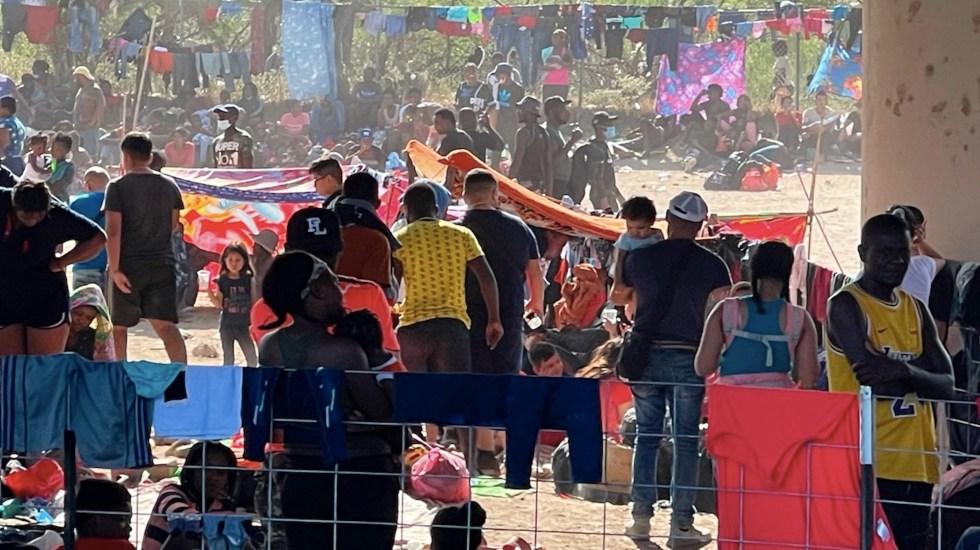 EE.UU. prepara vuelos de deportación a Haití tras cruce masivo de migrantes - EE.UU. prepara vuelos de deportación a Haití tras cruce masivo de migrantes. Foto de EFE