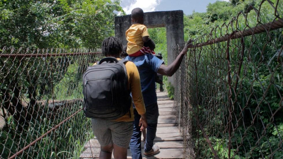 Migrantes haitianos huyen de Chiapas en peligrosas rutas - migrantes haitianos Chiapas